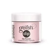 Puder do manicure tytanowy - GELISH DIP - Taffeta 23 g - (1610840)