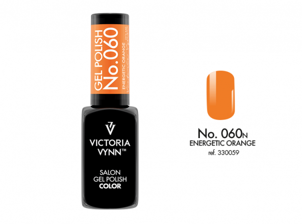 060 Energetic Orange Lakier Hybrydowy Victoria Vynn Gel Polish