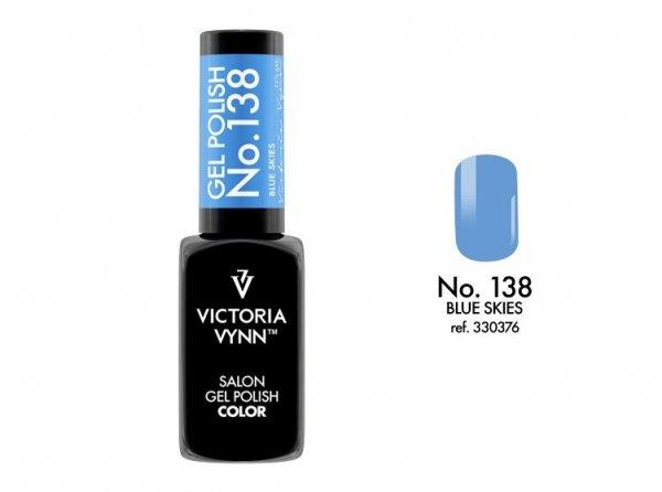 138 Blue Skies Lakier Hybrydowy Victoria Vynn Gel Polish