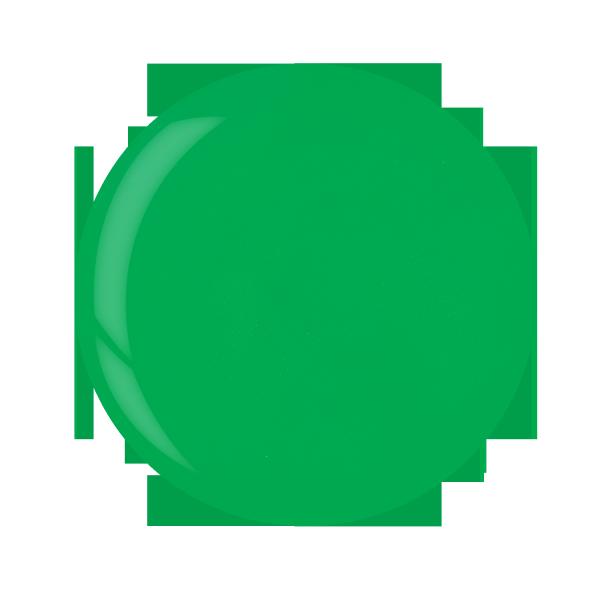 Cuccio manicure tytanowy - 3033 DIP SYSTEM PUDER Neon Green 14 G
