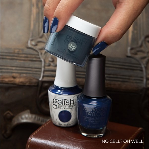 Puder do manicure tytanowego - GELISH DIP  - No Cell? Oh Well!  23g (1610316)
