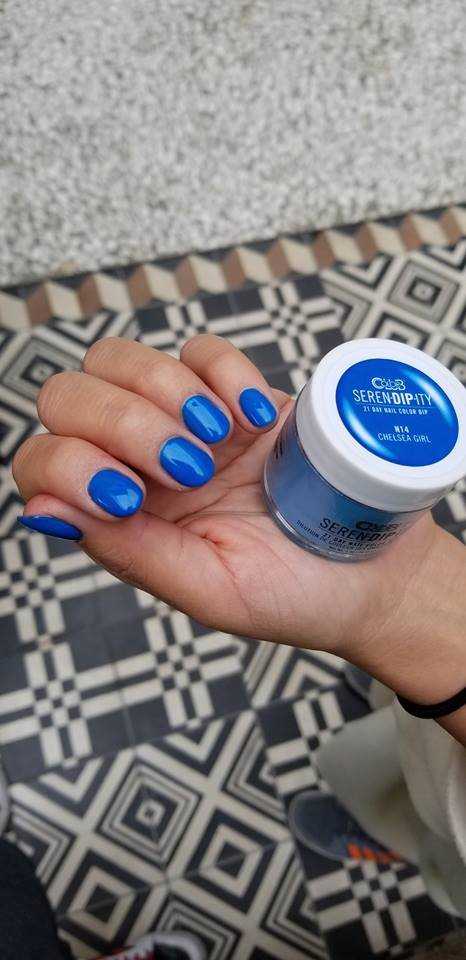Color Club puder do tytanowego 28g - SERENDIPITY Chelsea Girl