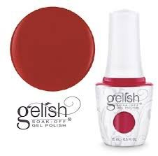 Gelish Hot Rod Red (1110861) - lakier hybrydowy 15ml