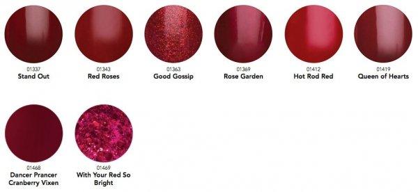 GELISH Hot Rod Red (1110861) - lakier hybrydowy 15ml czerwony - HappyMani