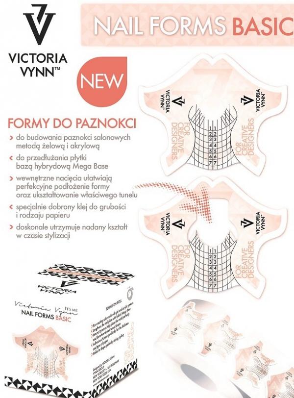 Szablony, formy do przedłużania paznokci 400 szt - Victoria Vynn