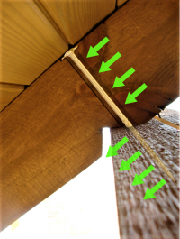 Wkręty ciesielskie 8x180 mm talerzowe - 50 szt