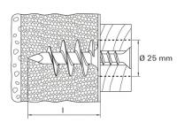 Kołek do izolacji FID 90 510971 - 25 szt