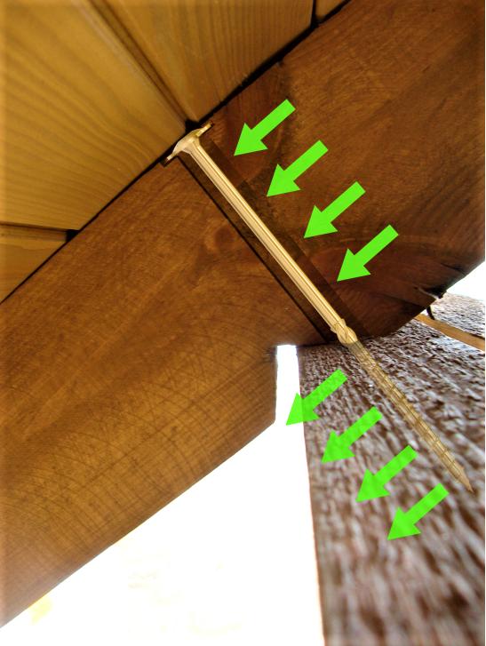 Wkręty ciesielskie 8x160 mm talerzowe - 50 szt