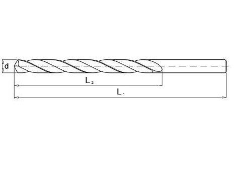 Wiertło do metalu 8,0 mm NWKa HHS BAILDON