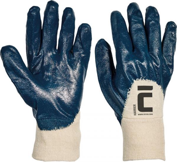 Rękawice robocze  HARRIER olejoodporne roz.9 - 12 par