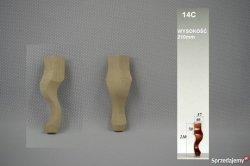 Noga drewniana do mebli 14c