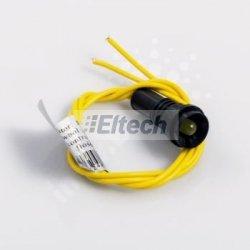 LAMPKA KLP-10 ŻÓŁTA 230V d.3308
