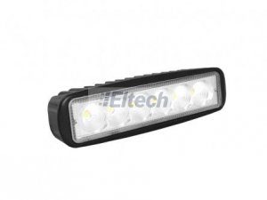 LAMPA PANEL 6LED OFFROAD 18W FLOOD LXLA200 9-60V