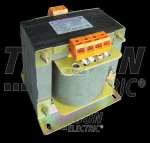 Zwykły transformator jednofazowy 230V / 12-24-42V, max.630VA TVTR-630-C