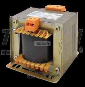 Zwykły transformator jednofazowy 230V / 12-24-42V, max.500VA TVTR-500-C