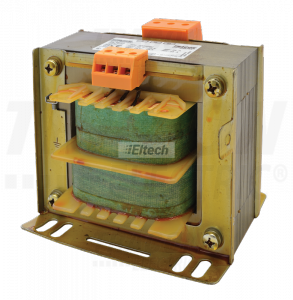 Transformator bezpieczeństwa, jednofazowy 230-400V / 12-24V max 600VA TVTRB-600-B
