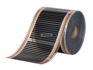 Folia grzewcza Termofol o szerokości 25cm i mocy 35W/mb - 140W/m2