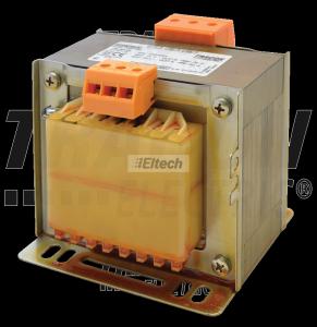 Transformator bezpieczeństwa, jednofazowy 230-400V / 12-24V, max.400VA TVTRB-400-B