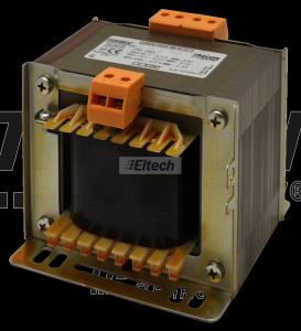 Zwykły transformator jednofazowy 230V / 42-110-230V, max.500VA TVTR-500-E