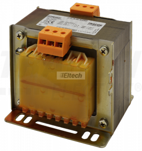 Transformator bezpieczeństwa, jednofazowy 400V / 24V, 400VA TVTRB-400-R