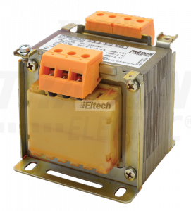 Transformator bezpieczeństwa, jednofazowy 230-400V / 6-12-24V, max.100VA TVTRB-100-A