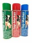 Zestaw 3 kolory - spray do znakowania zwierząt, TopMarker, 500ml