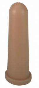 Smoczek lateksowy krótki z nacięciem