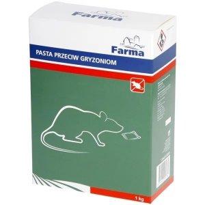 Pasta trutka na myszy i szczury Farma 1kg