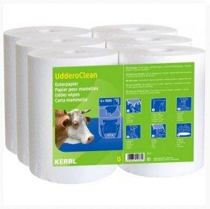 Papier do higieny wymion Uddero Clean 6x1000 listków 21 x 21 cm