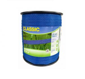 Taśma CLASSIC 500m, 20mm niebieska
