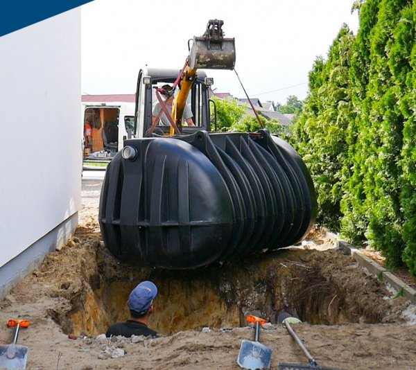 Zbiornik na deszczówkę podziemny 2275L