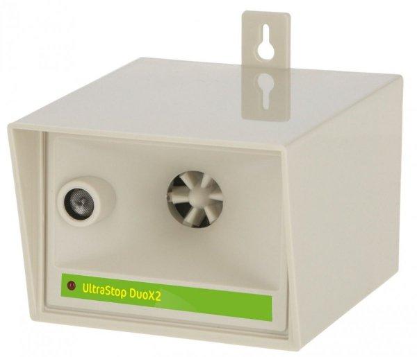 UltraStop DuoX2 odstraszacz myszy, szczurów, kotów, kun, gołębi, lisów