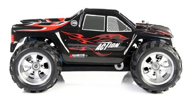 High Speed Monster Truck 1:18 4WD 2.4GHz - Czerwony