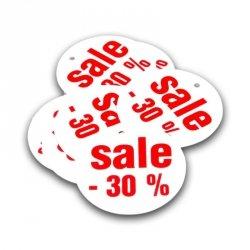 Zawieszka wyprzedażowa SALE 30% - 10 sztuk