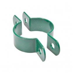 Obejma pośrednia 1 otwór fi60 - zielona