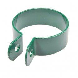 Obejma końcowa 1 otwór fi60 - zielona
