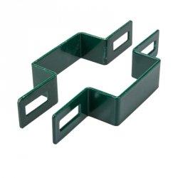 Obejma pośrednia 40x40 zielona - 25 sztuk