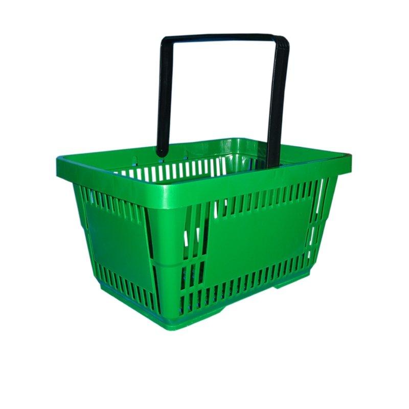 Koszyk sklepowy 22L - I rączka - kolory 15 sztuk