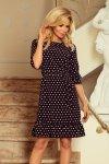 Elegancka sukienka S-XL Model 193-1 Black