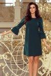 Elegancka sukienka S-XL MARGARET BUTELKOWA ZIELEŃ