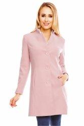 Płaszcz flausz jesienny 07 Light Pink