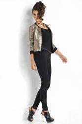 Legginsy Klasyczne Model Plush Laura Black