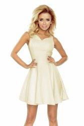 Sukienka Model 187-1 Ecru