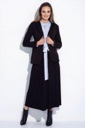 Spódnica maxi z kokardą w talii 252 Black