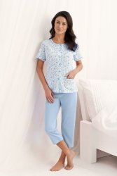 Piżama Damska Model Simona 547 Blue