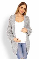 Sweter Ciążowy Model 60003C Grey