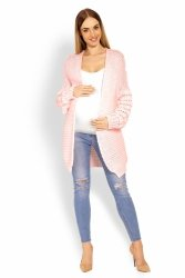 Sweter Ciążowy Model 60003C Light Pink