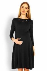Sukienka Ciążowa Model 1631C Black