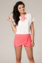 Szorty Damskie Model Danuta 2 Candy Pink
