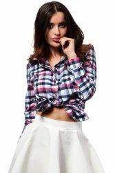 Koszula Damska Model MOE159 Pink